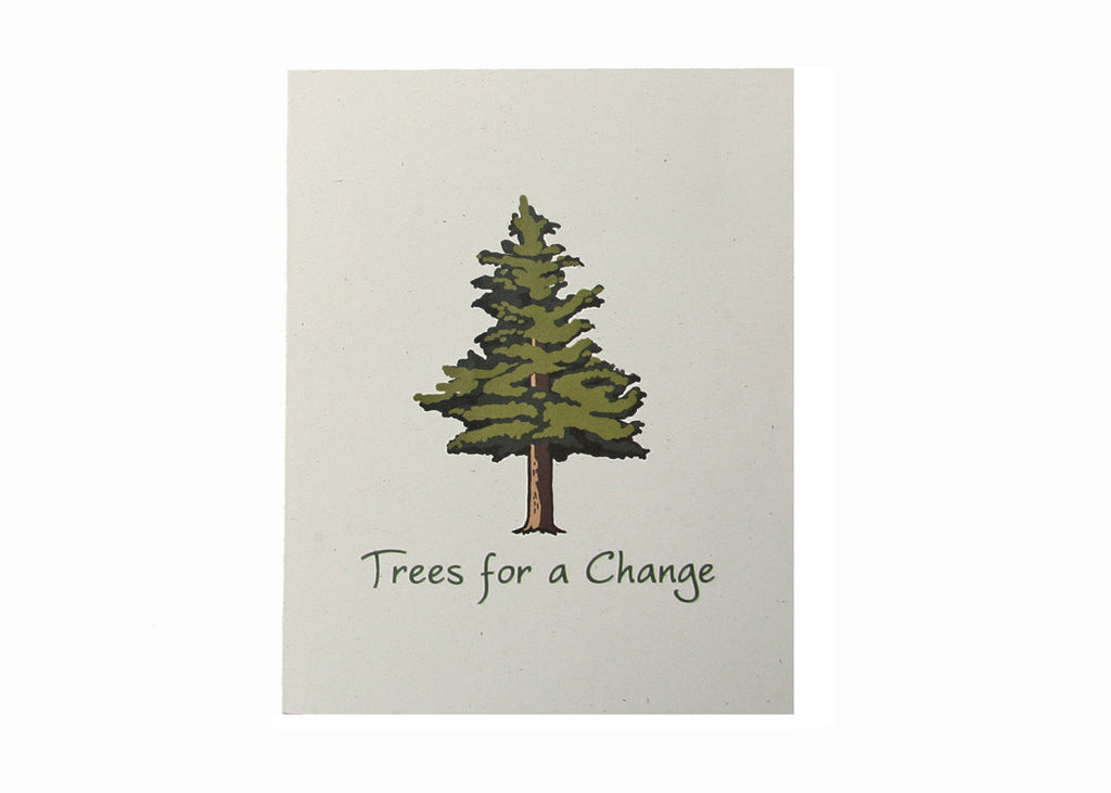 Postcard Tree Gift Favor