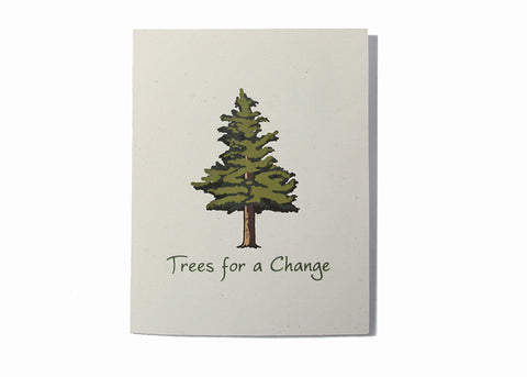 Tree Gift Card Favor Outside