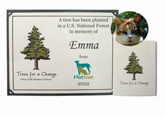 Vet & Pet Business Memorial Tree Gift