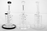 Quantum Sci Q Perc Glass Water Pipe