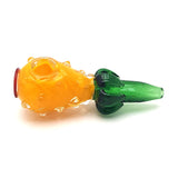 Handmade Glass Fruit Handpipe - Pineapple
