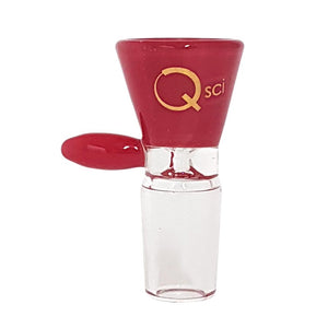Quantum Sci 18mm Red Glass Bowl