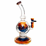 Quantum Sci Glass Rasta Sphere Bong Bundle Package Deal