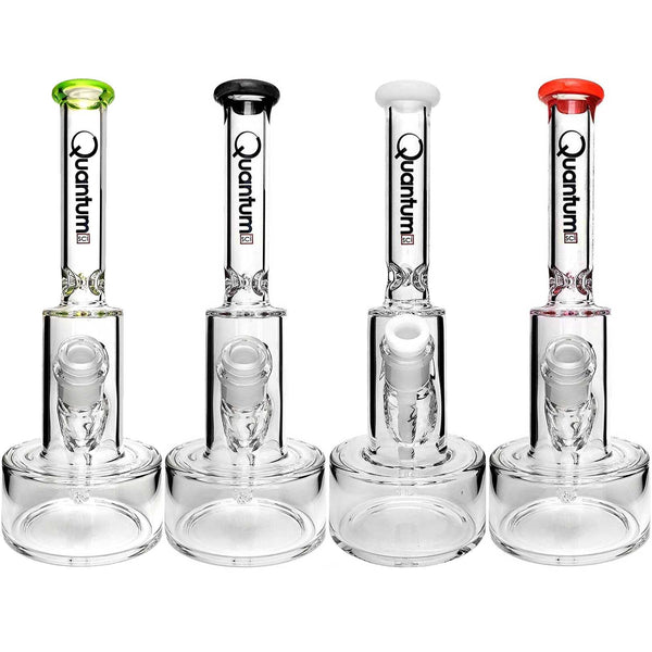 "Quantum Sci 10"" Mini Hybrid Water Pipe Glass Bong"