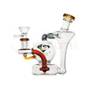 Diamond Gold Glass Mini Orb Recycler