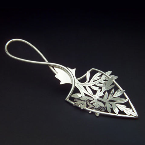 Sterling silver Wormwood absinthe spoon
