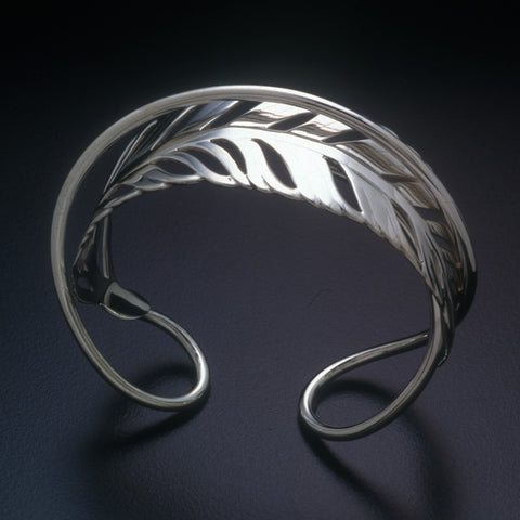 Sterling silver Palm Leaf bracelet