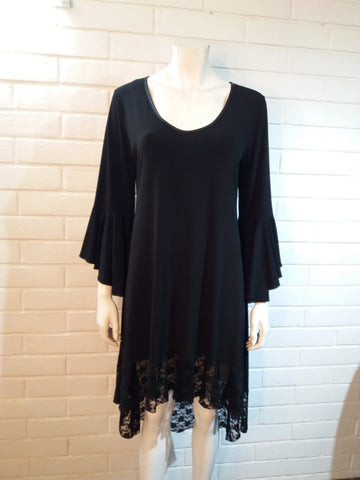 Vestido Cocktail Negro talla XL