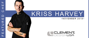 November 2018 Featured Chef: Kriss Harvey