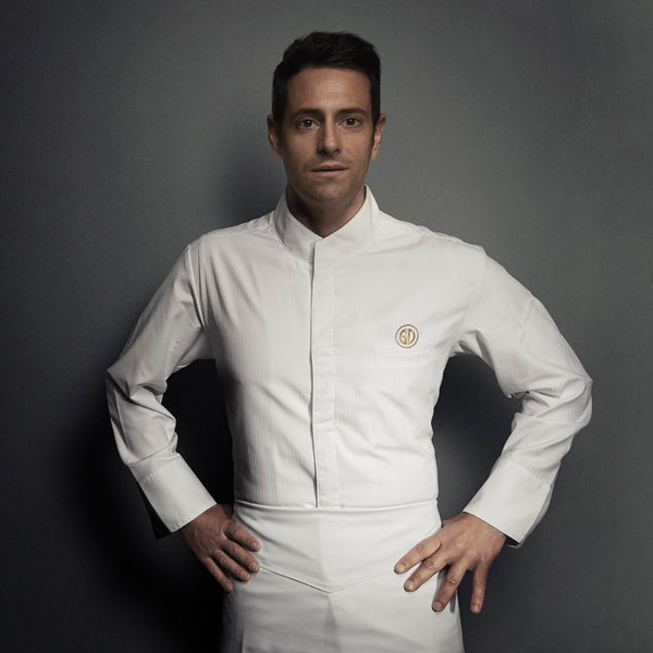 Gregory Doyen in Clement Design ALICANTE chef jacket