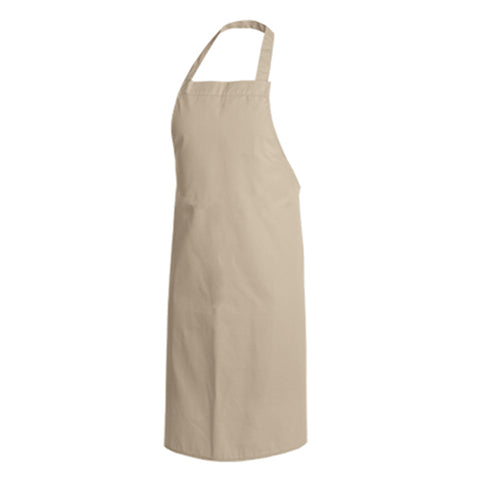PAPRIKA beige bib chef and service apron