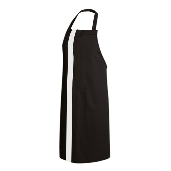 PAPRIKA black bib chef and service apron with CYOU customization
