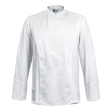 FIRENZE affordable high quality men's chef jacket, white long sleeve