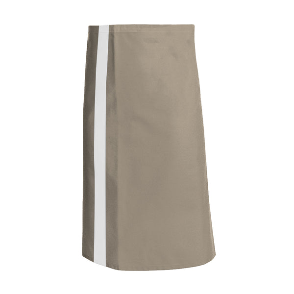CANELLE beige waist and service apron with CYOU customization
