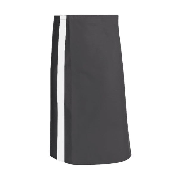 CANELLE charcoal waist and service apron with CYOU customization