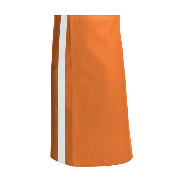 CANELLE orange waist and service apron with CYOU customization
