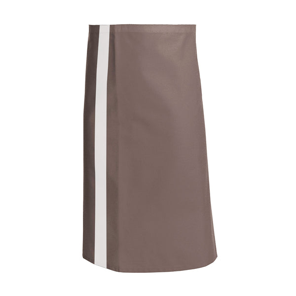 CANELLE Taupe colored waist and service apron with CYOU customization