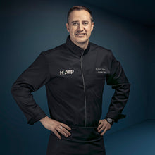 long sleeve center snap CATANE chef jacket