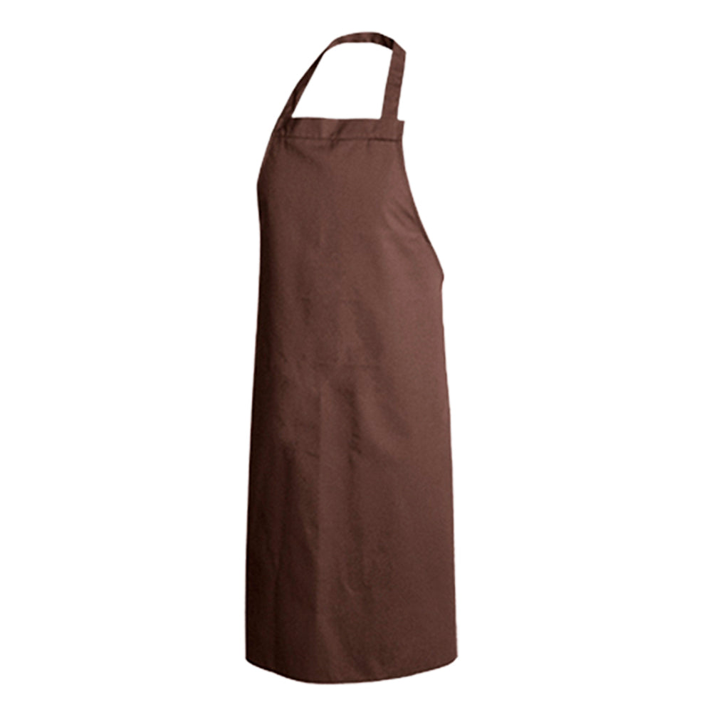 PAPRIKA chocolate colored bib chef and service apron