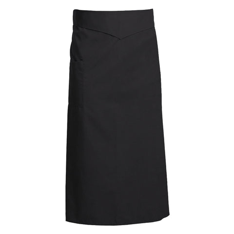 CORIANDRE black colored French apron with ties