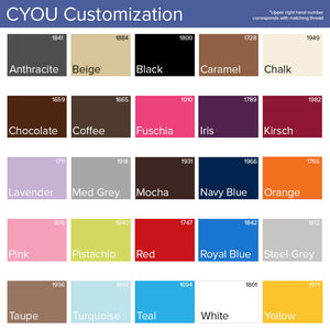 CYOU customization color options by Clement Design