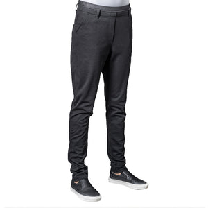 DJANGO women's fitted jersey chef pants