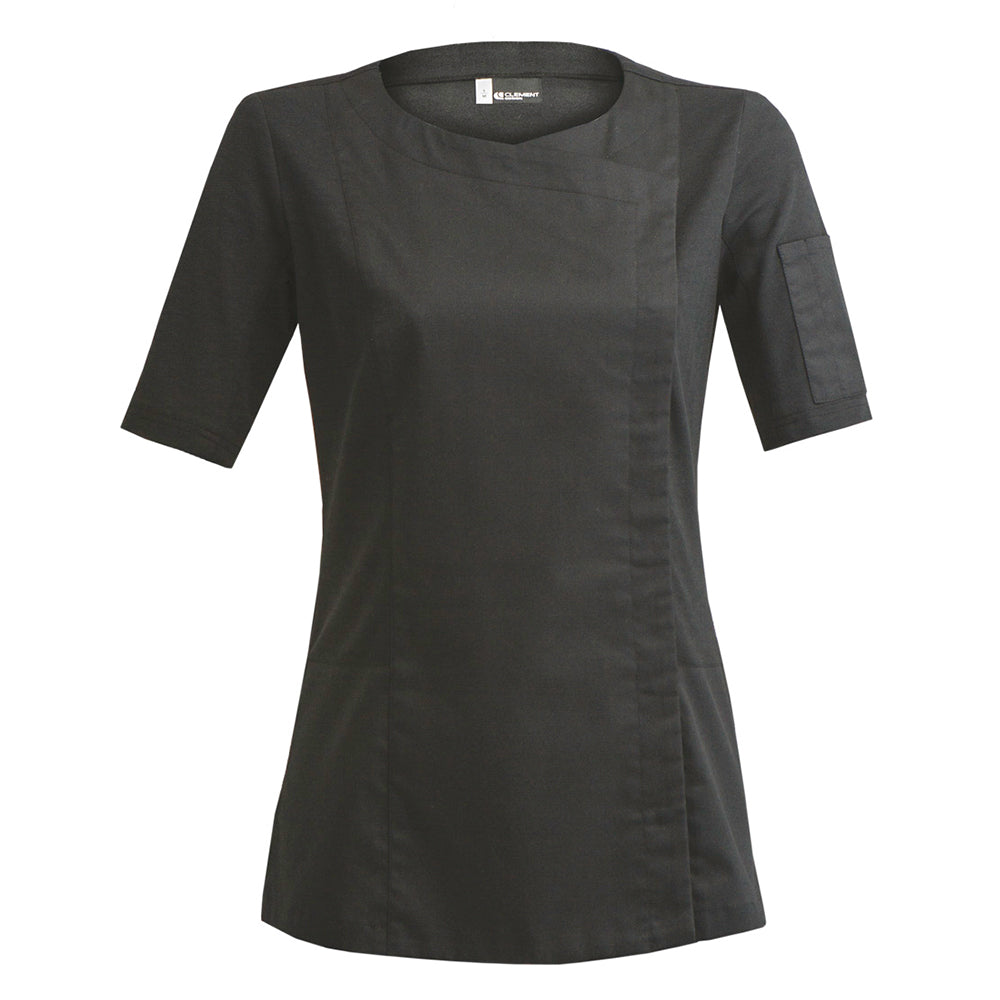 DOLCE women's short sleeve hybrid jacket black
