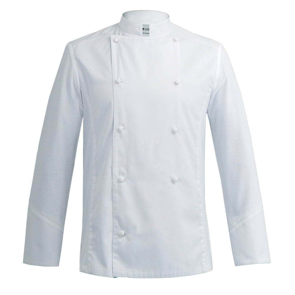 DREAM traditional style chef jacket with hybrid dry-up technology for executive chefs in white