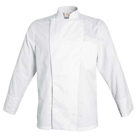 EPURE lycocell and polyester executive chef jacket