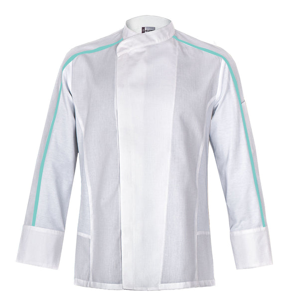 FUTURA modern style chef jacket for men with CYOU customization
