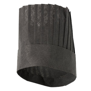 GAYA adjustable black french chef hat