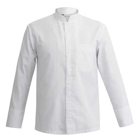 MANTOVA long sleeve white professional chef jacket for men