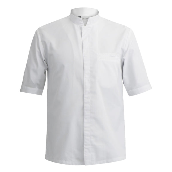 MANTOVA men's short sleeve professional chef coat