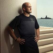 lightweight black chef t-shirt for chefs