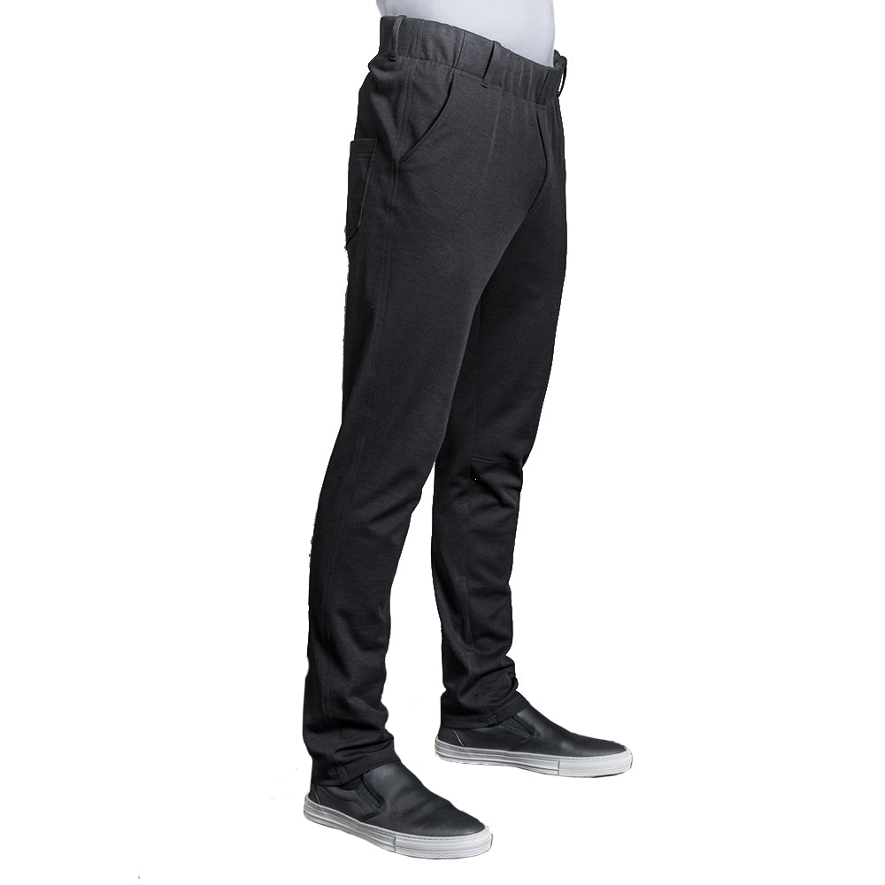 MOOV men's comfortable fitted jersey chef pants