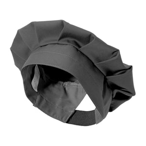 ROMARIN black french chef beret