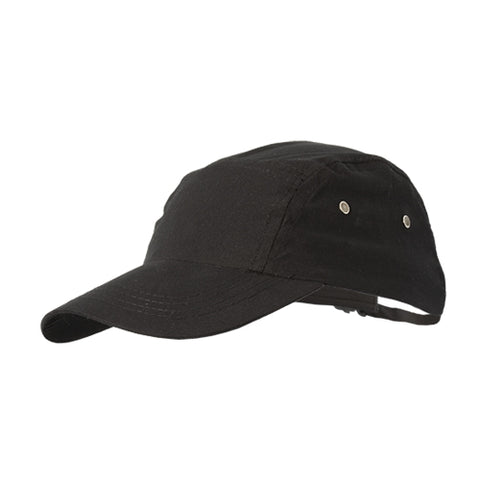 SARIETTE modern baseball style chef hat black