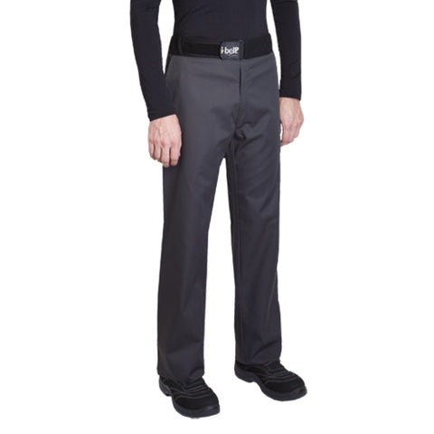 SIROCCO polycotton charcoal chef pants for men