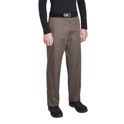 SIROCCO poly cotton tan chef pants for men