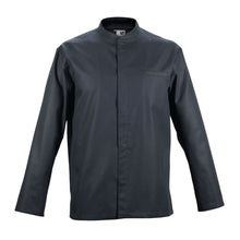 TIME long sleeve black honeycomb material chef jacket