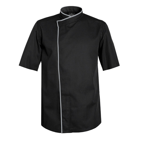 TOKYO black chef jacket for sushi chefs with CYOU customization
