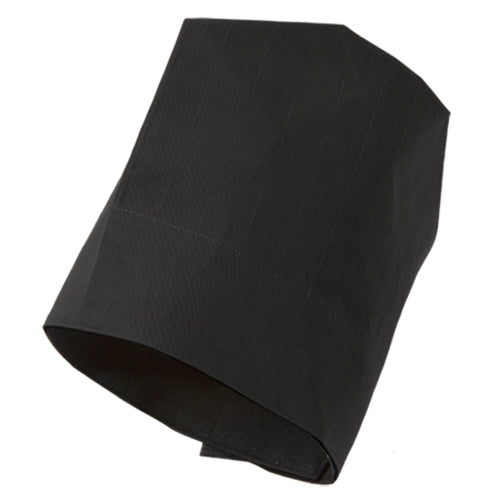 ULTIMA washable chef hat in black