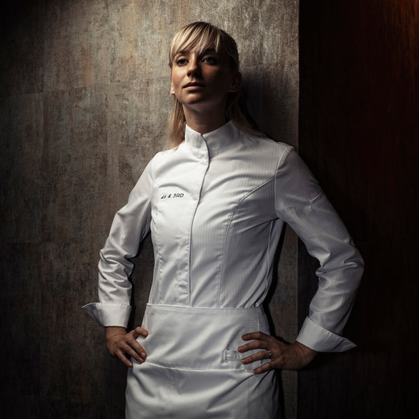 VALENCIA professional women's chef jacket