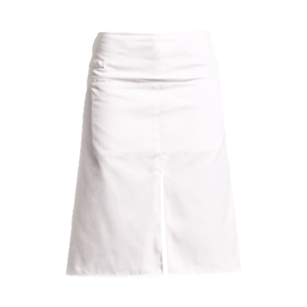 WOK white polycotton chef apron