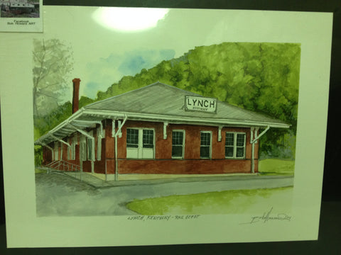 Lynch, Kentucky - Rail Depot by Bob Howard