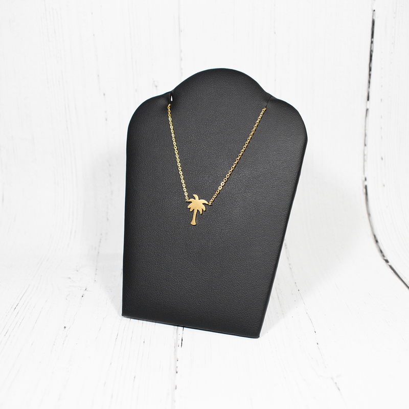 Palm Tree Necklace In Gold (NEW) - GetDawah Muslim Clothing