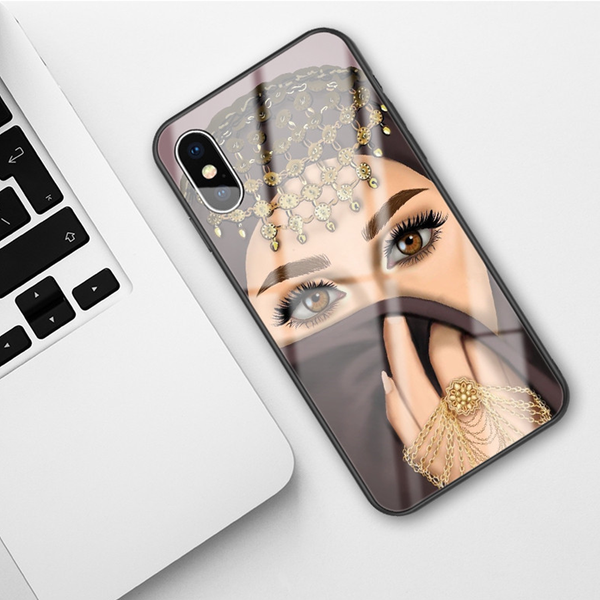 Hijabi Face Phone Case For iPhone & Samsung - GetDawah Muslim Clothing