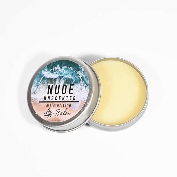 Nude Unscented Lip Balm (Halal & Vegan)