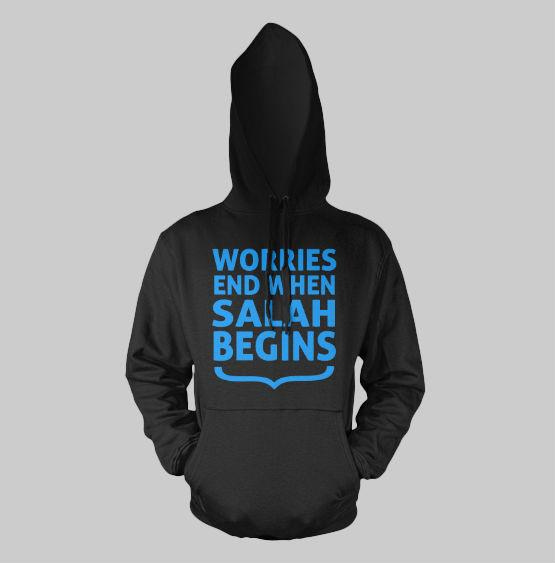 When Salah Begins Hoodie - GetDawah Muslim Clothing
