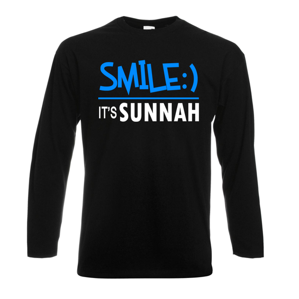 Smile It's Sunnah - GetDawah Muslim Clothing